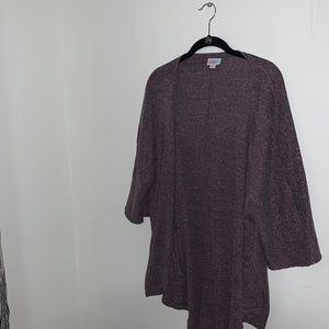 LULAROE - Purple Lindsay Kimono